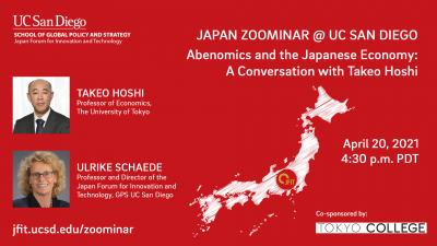 Abenomics and the Japanese Economy: A Conversation with Takeo Hoshi